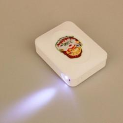10000mAh Magic Mirror Mönster PowerBank för iPhone Random Sändning
