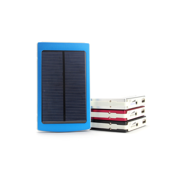 10000mAh Solar Charger Power Bank For iPhone6 Smartphone iPhone 5 5S 5C