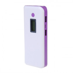 10400mAh Portable Dual USB Ports Power Bank For iPhone Smartphone