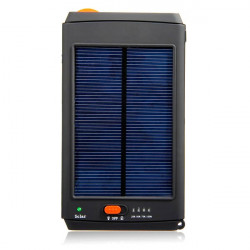 11200mAh Solar Power Bank Panel Charger For Laptop