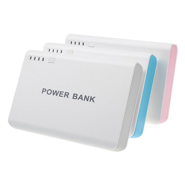 12000mAh 2USB LED External Battery Power Bank For iPhone iPhone 6 Plus