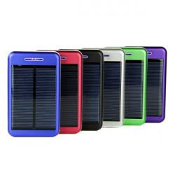 13800mAh Solar Oplader Battery Powerbank til iPhone Smartphone