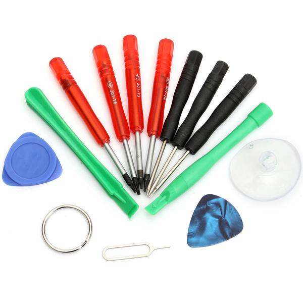 13 in 1 Handy Reparatur Werkzeug Installationssatz Schraubendreher iPhone 5 5S 5C
