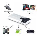15000mAh Dual USB Backup Externt PowerBank för iPhone Smartphone iPhone 6