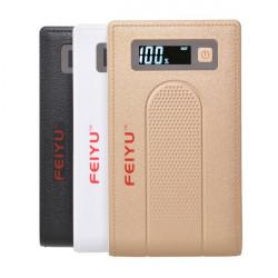 15000mAh Dubbla USB-portar PowerBank Batteriladdare för iPhone