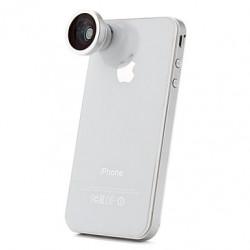 180 Degree Detachable Fisheye Lens For iPhone Digital Cameras