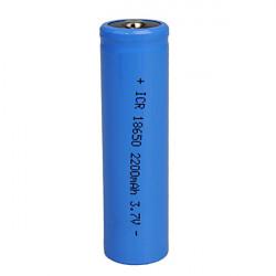 18650 Litiumbatteri 2200mAh 3.7V Uppladdningsbart Batteri