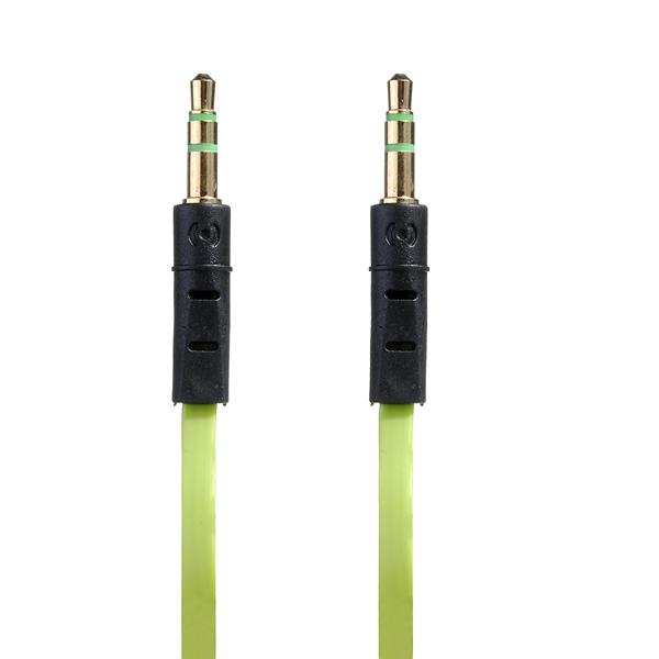 1m Süßigkeit Farben Stecker auf Stecker Audio Kabel für iPhone Smartphone Gerät iPhone 5 5S 5C