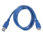 1m USB 3.0 Type A Han til Micro B Han Forlængerkabel Cord Adapter MacBook Tilbehør