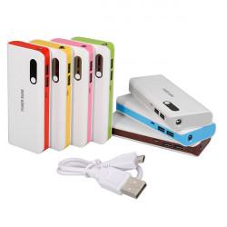 20000mah Dual Output Externt Batteri Powerbank för iPhone Smartphone