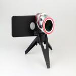 20x Zoom Aluminiumlegering Kamera Teleskop Lins för iPhone 4 4S iPhone 4 4S