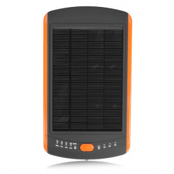 23000mAh Solar Oplader Powerbank Cover til iPhone Smartphone