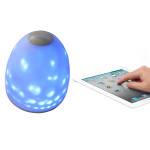 256 Colors Bluetooth Led Mood Light Speaker For iPhone Smartphone