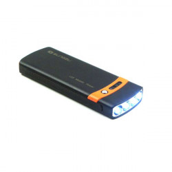 2600mAh 4-LED Flashlight Solar Charger Power Bank For iPhone