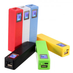 2600mAh USB Powerbank Case Kit 18650 Batterioplader DIY Box