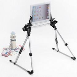 270° Vridbar Mobile Mobil Tabell Hållare för iPhone iPad