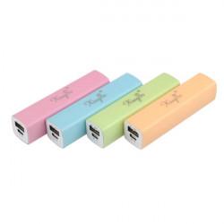2800mAh Externt Backup Batteri PowerBank för iPhone Smartphone