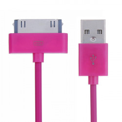 2m USB Data Sync Kabel Ladd Sladd för iPhone iPad