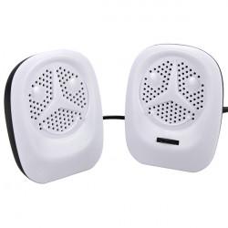 2x Portable USB Music Player Högtalare för PC Bärbar Dator Mobiltelefon