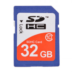 32G Class 10 SD3.0 SD Memory Card Blue SD Card For Apple Accessories