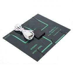 3.5 W Solar Panel USB Batterioplader til iPhone Smartphone
