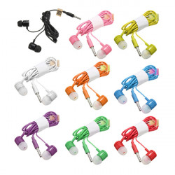 3.5mm In-Ear Earbuds Headset Headphone With Mic For iPhone