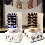 3.5mm Microphone Design Music Stereo Speaker For iPhone Smartphone
