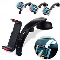 360° Bil Instrumentpanel Mount Hållare Ställ Cradle för iPhone