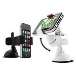 360° Roterande Bil Sucker Konsollhållare för iPhone Smartphone iPhone 5 5S 5C