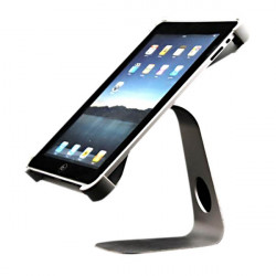 360 Angle Rotating M-shape Aluminium Metal Holder Adapter For iPad 2