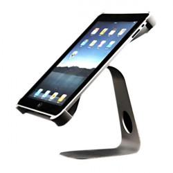 360° Roterande M-form Aluminium Metall Hållare Adapter för iPad 2