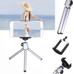 360° Drejelig Mini Stativ Tripod Mount Phone Holder