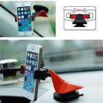 360° Roterande Bil Mount Instrumentpanel Cradle Hållare till iPhone Mobiltelefon iPhone 6 Plus