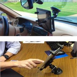 360° Roterande Bil Vindruta Skrivbord Fäste Konsollhållare för iPad