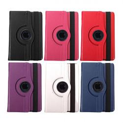 360° Roterende Swivel PU Læder Flip Stativ Case til iPad Mini 3