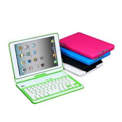 360 Rotating Wireless Bluetooth Keyboard Case For iPad Mini Mini 2