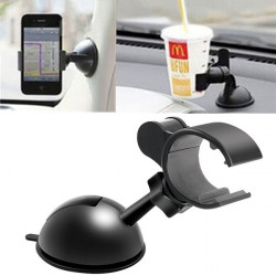 360°Rotation Universal Car Dashboard Holder For iPhone Smartphone