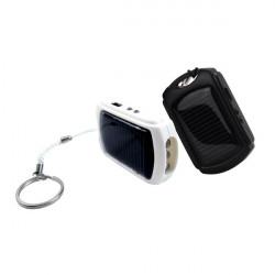 410mAh Mini Solcellsladdare PowerBank för iPhone Smartphone