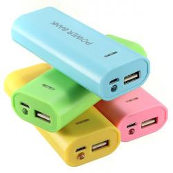 5600mAh USB Energien Bank Kasten Kit 18650 Ladegerät DIY Box