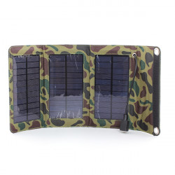 5W Solar Panel Source PowerBank Charger