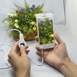 90cm Wired Udløserknappen Kamera Fjernbetjening Kabel til iPhone