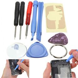 9i1 Öppnings Bänd Repair Skruvdragare Verktyg Kit Set för iPhone