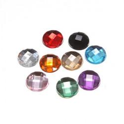 9 X Diamond Hjem Button Stickers Paster til iPhone iPad iPod