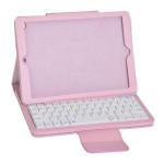 ABS Plast PU Litchi Ställ Bluetooth Tangentbord Fodral för iPad Air AIR2 iPad Tillbehör