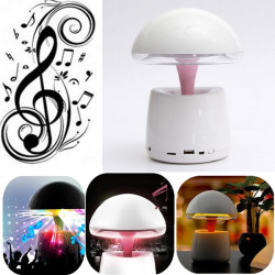 A LA Night Light Intelligent Alarm Clock Bluetooth Speaker For iPhone