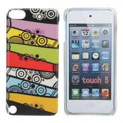 Abstrakter Entwurf Bunte Punkte zeichnet Kasten für iPod Touch5