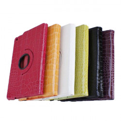 Alligator Grain Pattern 360 Rotation Protector Case For iPad Air