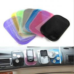 Anti-Slip Bil Instrumentpanel Sticky Pad Halkfri Matta Key Hållare till iPhone