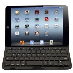 Anti-water Anti-shock Wireless Bluetooth Keyboard Case For iPad Mini