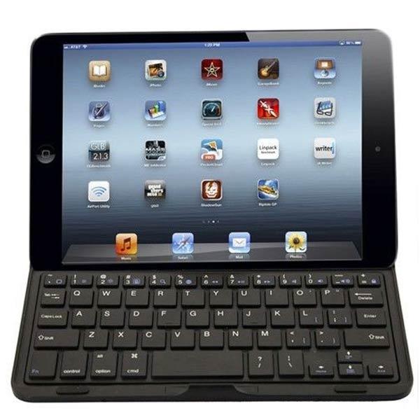 Anti-vatten Anti-chock Trådlöst Bluetooth-tangentbord Fodral för iPad Mini iPad Tillbehör